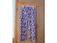 BRAND NEW SIZE 8 LADIES COTTON TROUSERS