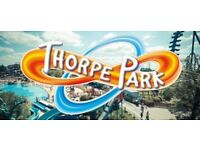 2 Thorpe Park Tickets 21st August For Sale