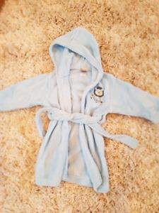 18m bathrobe with slippers