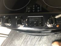 Zanussi induction hob electric oven 1 year old
