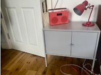 Bedside Table x2 - Ikea Lixhult Grey £40