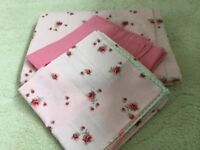 Double duvet cover and pillowcases