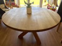 Oak Spider Table