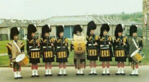 OFFICIAL CANADIAN REGIMENT  1980s MARCHING DRUM. (HIGHLANDERS)