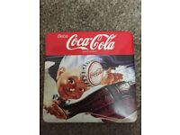 AUTHENTIC COLLECTIBLE COCA COLA COASTERS - RARE