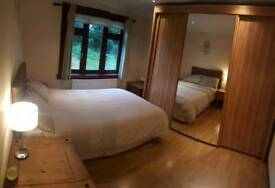 Clean double room.