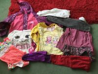 Girls Clothes sizes 4-6 Years.