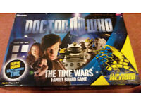 Dr Who, The time wars game