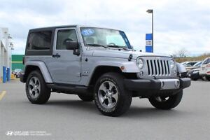 2016 Jeep Wrangler Sahara! 6 SPEED! NAVIGATION! $232 BI-WEEKLY!