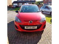 Mazda 2 Sport 5 door Red Hatchback Only 27k miles