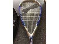 New Slazenger Xtreme Titanium Squash Racket with 3 new balls