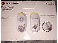 Motorola Digital Baby Monitor- excellent condition