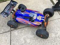 Rc car DHK OPTIMUS 1/8 scale 4wd nitro buggy