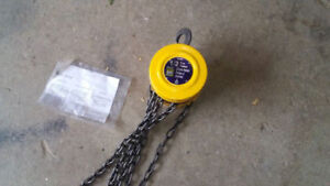 For sale like new 1/2 Ton Chain Hoist,  used 2 times. Asking $75