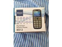Binatone m312 big button mobile phone - used one