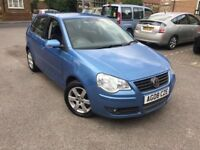 2008/08 Volkswagen Polo Match 60 1.2 Full Service History 1 Owner Long Mot:13/03/2018