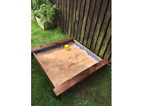 Wooden Sandpit Brand New