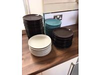 Selection of Ikea side plates in good condition.