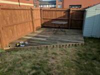 Wanted decking to finish a project