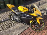 Yamaha Yzf r125 ( can deliver in Plymouth) great first 125