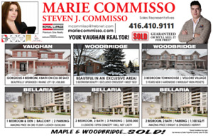 VAUGHAN/MAPLE REALTOR | FOR ALL YOUR NEEDS