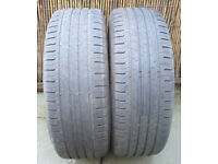 2 x Continental Conti Eco Contact5 205/55/R16 Tyres with 6mm tread