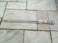 Chrome Curtain Pole with fittings