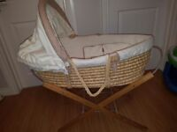 Moses Basket, Stand and inserts