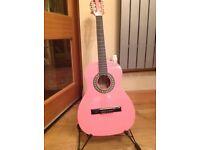 Guitar three quarters size
