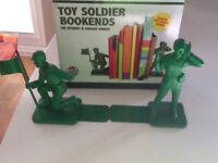 Toy Soldier Book Ends