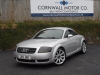 AUDI TT 1.8 QUATTRO 3d 177 BHP FSH WITH RECENT SERVICE AND (silver) 2003