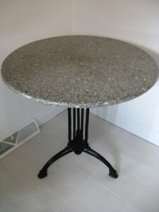 """Table ronde style bistro 30"""" / Round table bistro style 30"""""""