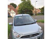 Hyundai i10 Active 1.2 2012(62), 17700 LOW miles, FSH, Manual, Petrol