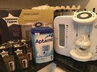 Tommee Tippee Prep Machine with 4 x Genuine filters - Used for 1 week £75