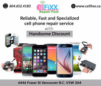 LG G2 repair prices with handsome discount in Vancouver
