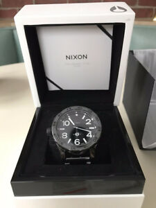 Nixon 51-30 Elite Black Ceramic Swiss Automatic watch - RARE