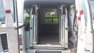 Universal Fully Automatic WheelChair Lift For Vans & More!
