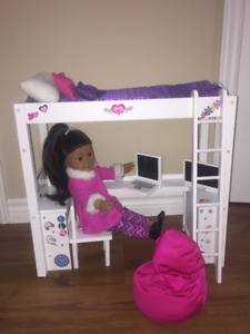 American Girl Doll with sets and clothes