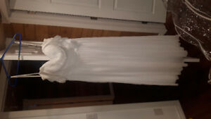 Wedding dress-only worn once!