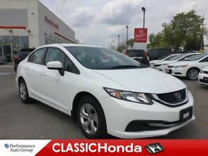 2015 Honda Civic Sedan LX | REAR CAM | BLUETOOTH | ECON | AUX &