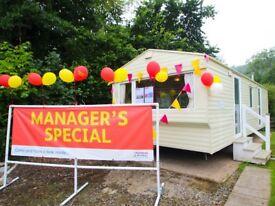 MANAGERS SPECIAL: Delta St Helens, 2009, 2-Bedroom, Starter Static Caravan, Pendine Sands