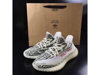 Adidas Yeezy Zebra size 7