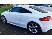 Beautiful, white Audi TT