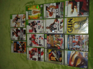 XBOX 360 GAMES MINT CONDITION & COMPLETE SOME FACT SEALED STILL