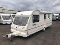 2001 BAILEY PAGEANT CHAMPAGNE 4 BERTH TOURING CARAVAN