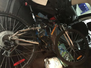 Want to trade current mountain bike + money for hybrid