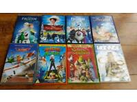 X8 Disney and DreamWorks dvds