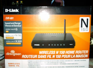 D Link wireless N 150 Home router