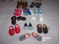 baby boy shoes size 0-18 months