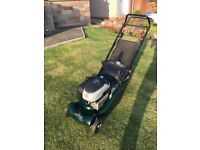 Hayter Harrier 41 Self propelled electric start petrol lawnmower in excellent condition